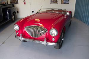 1955 AUSTIN HEALEY 100/4.  CALIFORNIA CAR, BEAUTIFUL RESORATION.