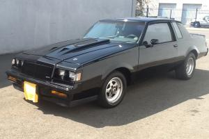 1987 Buick Regal Grand National  T type with moon roof