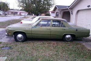 1971 Plymouth Valiant 4Dr 225 Slant 6