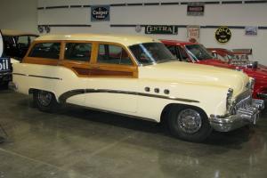 1953 Buick Woodie wagon low mileage original 2 owner car from Pasadena, Calif.