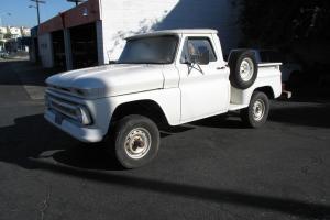 Rare 1966 Chevrolet shortbox stepside 4x4