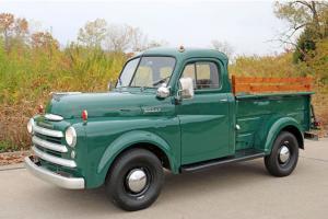1949 Dodge B1B 1/2 ton Pickup Good Driver Rare Pickup Good Looking Body Style