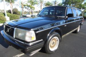 1989 Volvo 240 DL wagon - third seat -156,000 miles- Alpine stereo - runs great! Photo