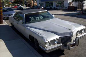 1972 Cadillac Sedan DeVille second owner