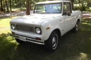 1971 INTERNATIONAL SCOUT 800 4X4 3 SPEED 196 WITH 22,500 ACTUAL MILES