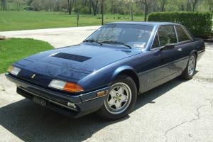 1987 Ferarri 412 USA legal, 18,000 miles, nice color combination