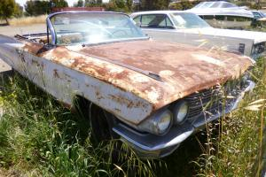 1962 Cadillac Convertible Project CAR American Icon Collectable Classic  Photo