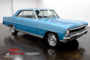 1966 Chevrolet Nova Super Sport 283 V8 Automatic Console CHECK THIS ONE OUT
