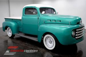 1949 Mercury Custom Chopped Top Pickup SBC V8 Automatic LOOK AT THIS