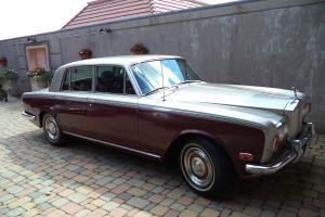 1973 ROLLS-ROYCE SILVER SHADOW .... Vintage Touring Sedan