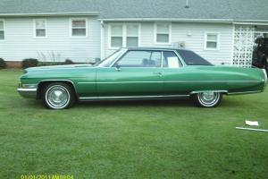 1972 Coupe Deville Cadillac