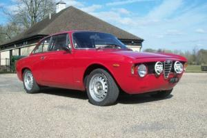 Alfa Romeo Sprint Giulia Gt Race Car Rally Car with full FIA