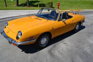 1970 Fiat 850 Sport Spider  * original collector quality car *