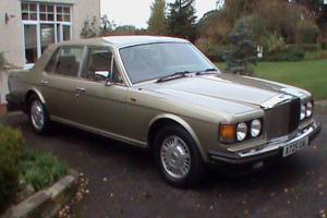 1983 Bentley Mulsanne Turbo in Cotswold Beige with Full Bentley Service History.