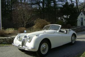 1952 Jaguar XK120 Drop Head Coup