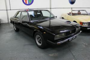 Fiat 130 Coupe 1974 Black Only 60,000 Miles Classic Fiat