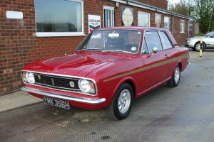 Ford Cortina Mk2 Lotus (Twincam) 1970 Red  Photo