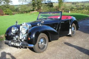 CLASSIC 1947 TRIUMPH 1800 ROADSTER CONVERTIBLE OLDER RESTORATION READY TO USE