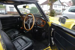 Triumph TR6 Sports/Convertible mimmosa yellow eBay Motors #251367908026