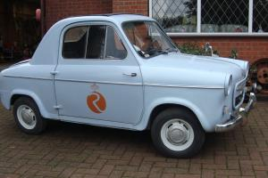 1959 vespa yes VESPA 400 CAR MICRO CAR FROM FRANCE IN GOOD ORDER FREE TAX NO MOT