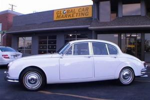 1967 JAGUAR MARK II SALOON, FULL ENGINE OUT RESTORATION, CAR IS STUNNING CLASSIC