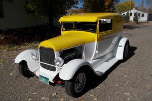 1929 Ford Sedan Delivery 3 1/2 Chopped  Classic Custom Hot Rod