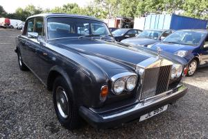 1978 ROLLS ROYCE SILVER SHADOW 2 11 II GREY 80k Classic All old MOT Photo
