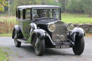 1934 Rolls-Royce Arthur Mulliner Limousine GUB51