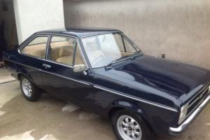 Ford escort mk2 2 door 46,000 miles race / rally 1 previous keeper  Photo