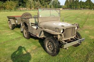 1942 M.B. Willys Jeep