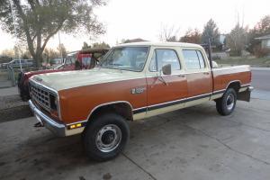 1982 Dodge Power Wagon Crew Cab 4x4 440 Magnum Mopar 1 owner   Cummins diesel ?