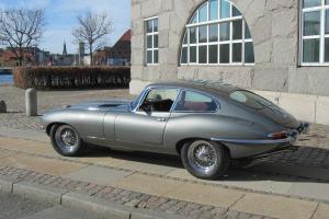 Jaguar E-type XKE S1 3.8 FHC 1963 Gunmetal