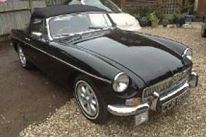 Mgb roadster black 1972
