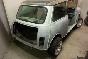 Classic Mini Project 1976.  Photo