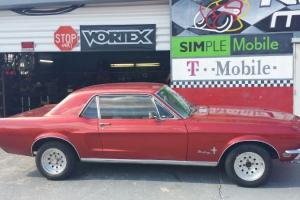 1968 mustang coupe 6 cylinder 3.3
