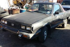 1985 Subaru Brat GL Standard Cab Pickup 2-Door 1.8L