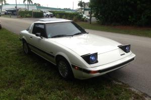 1984 Mazda RX7 GSL SE