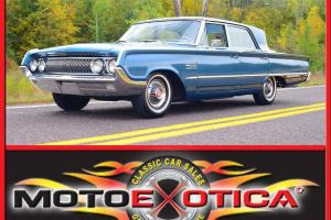 1964 MERCURY MONTCLAIR BREEZEWAY SEDAN - AMAZINGLY OVERALL ORIGINAL CAR! 266HP!!