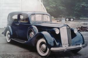 "1937 Packard Super 8 1501 Touring Sedan 134"" W.B. Rare  with a  Divider Window"