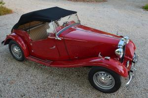 1953 MGTD - RESTORED<500 MI. - 2 OWN. CA. BLK. PLATE CAR / LAST OWN. 40~ YEARS!!