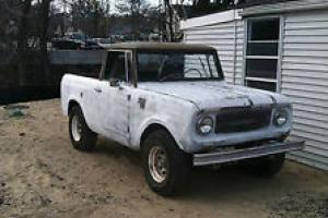 1965 Scout 800 from Colorado that is complete and drives