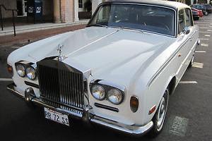 1972 Rolls Royce Silver Shadow 4 Door Sedan, with 6.8L, V-8 Engine