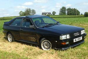 1986 AUDI QUATTRO TURBO UR/WR MODEL BLACK