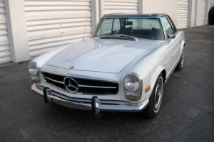 1969 Mercedes Benz 280SL W113 Pagoda Automatic with A/C DB 050 White