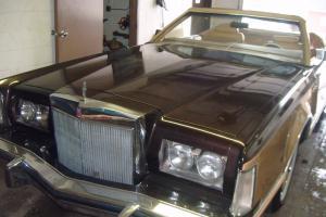 1978 Lincoln Mark V American Customs Coachworks Convertible