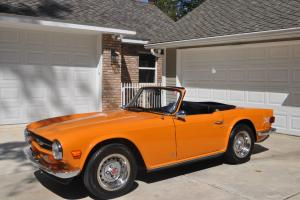 1974 Triumph TR6 Base Convertible 2-Door 2.5L