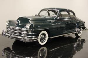 1948 Chrysler New Yorker Club Coupe 8 Cly Rare Restored Solid West Coast Car