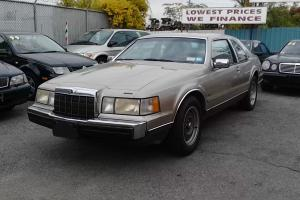 1989 Lincoln Mark VII LSC Sedan 2-Door 5.0L
