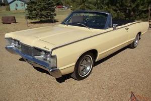 1968 Mercury Monterey Convertible