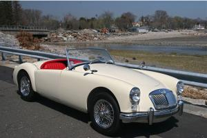 "1962 MGA ""RESTORED TO CONCOURSE CONDITION"""
